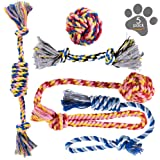 Dog Chew Toys - Puppy Teething Toys - Dog Toy Set - Rope Dog Toy - Medium and Small Dog Chew Toys - Chew Toys for Dogs…