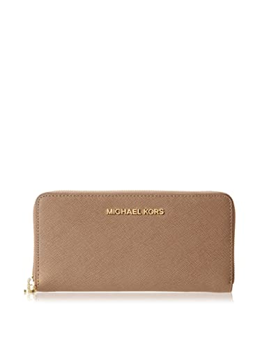 c9aa692a78c9dd Amazon.com: Michael Kors Travel Zip Around Continental Wallet Dark Dune/Gold:  Shoes