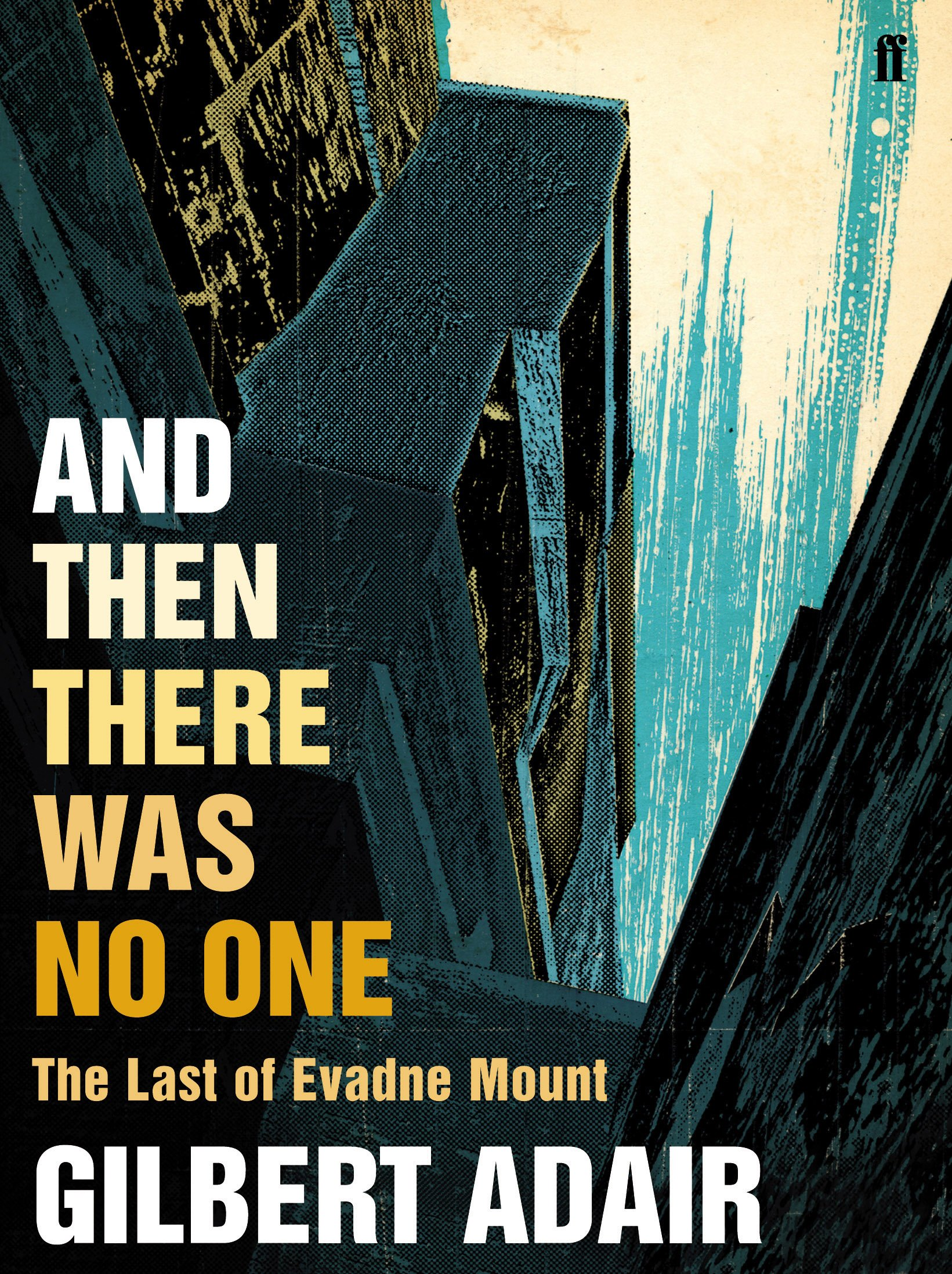 And Then There Was No One. Gilbert Adair pdf epub