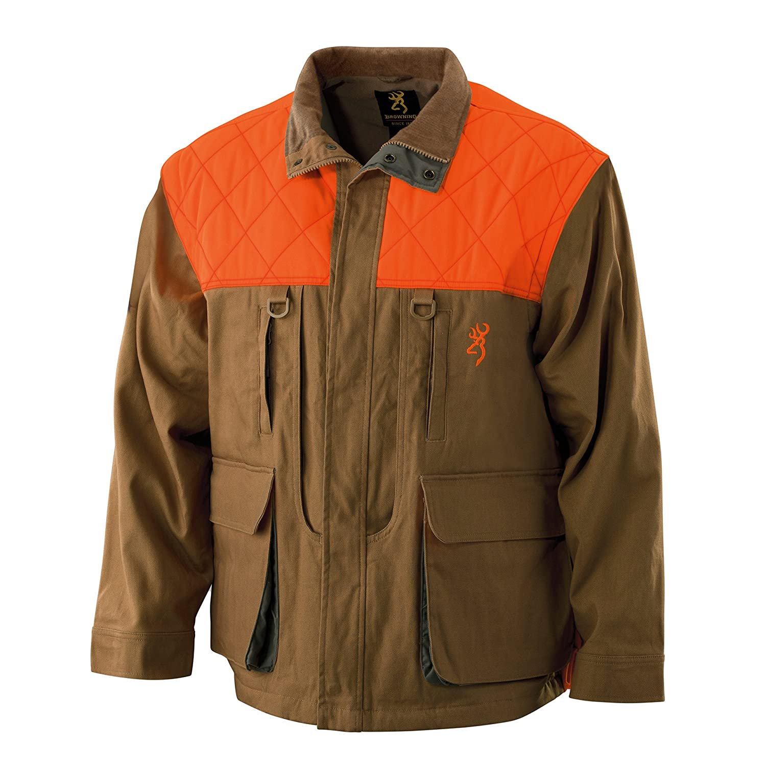 dcdda5272a0fb Amazon.com: Browning Pheasants Forever Upland Canvas Jacket: Sports &  Outdoors