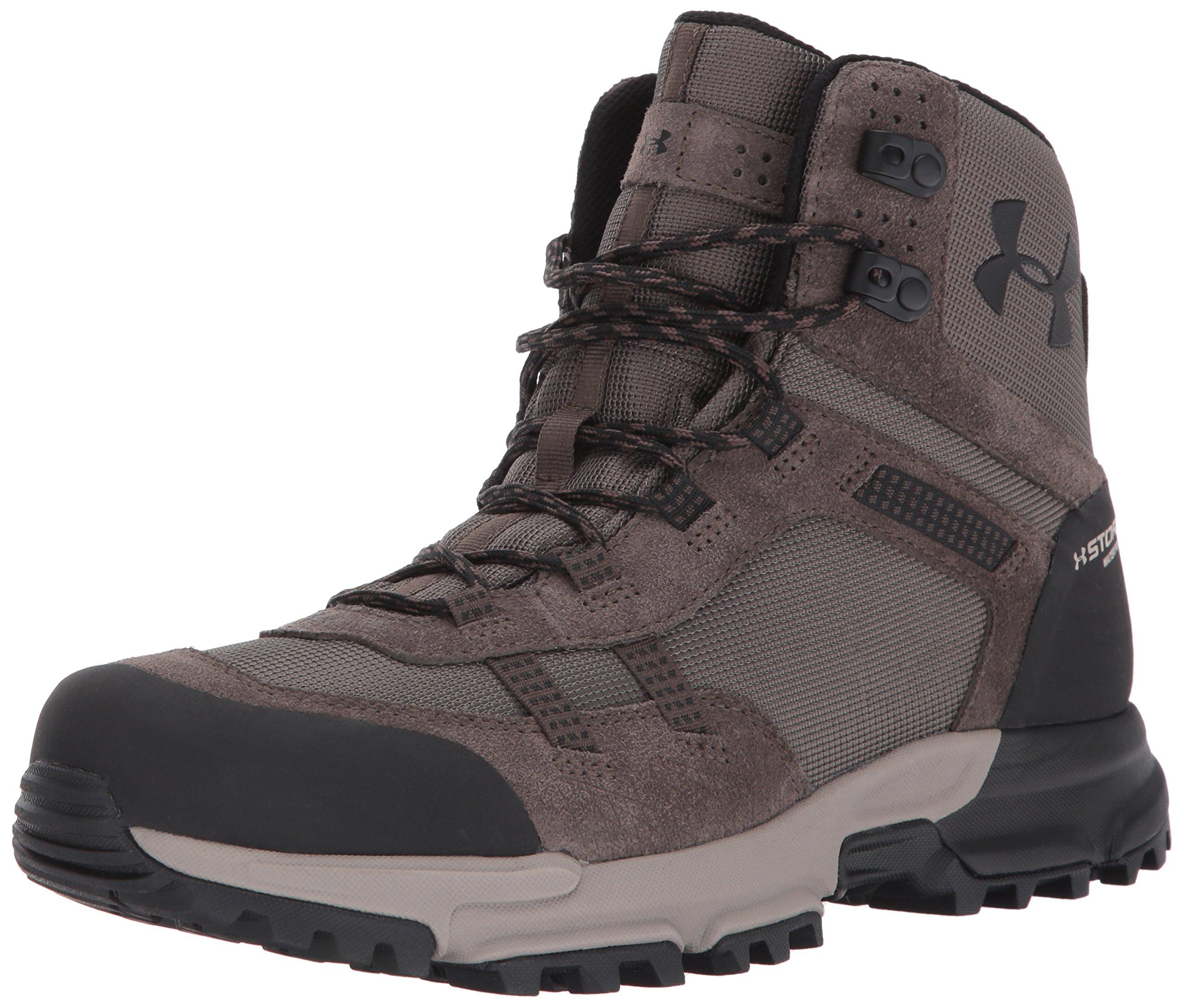 Under Armour Men's Post Canyon Mid Waterproof Hiking Boot, Maverick Brown (100)/Black, 11.5