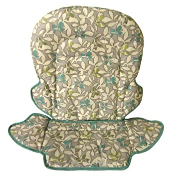 Replacement Seat Pad Cushion Cover For Graco Slim Snacker Harvest High Chair
