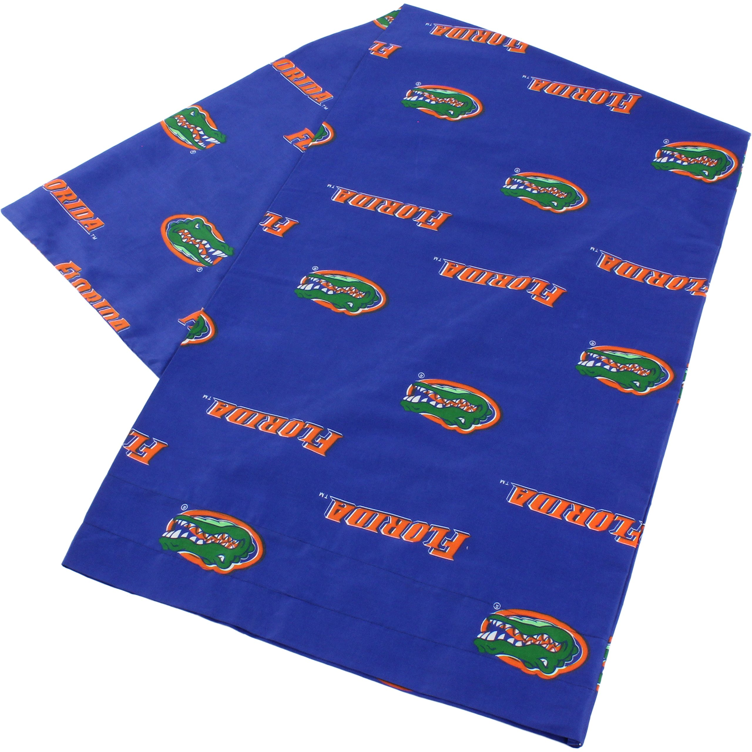 College Covers Florida Gators Pillowcase Only-Body Pillow, 20'' x 60'', Blue