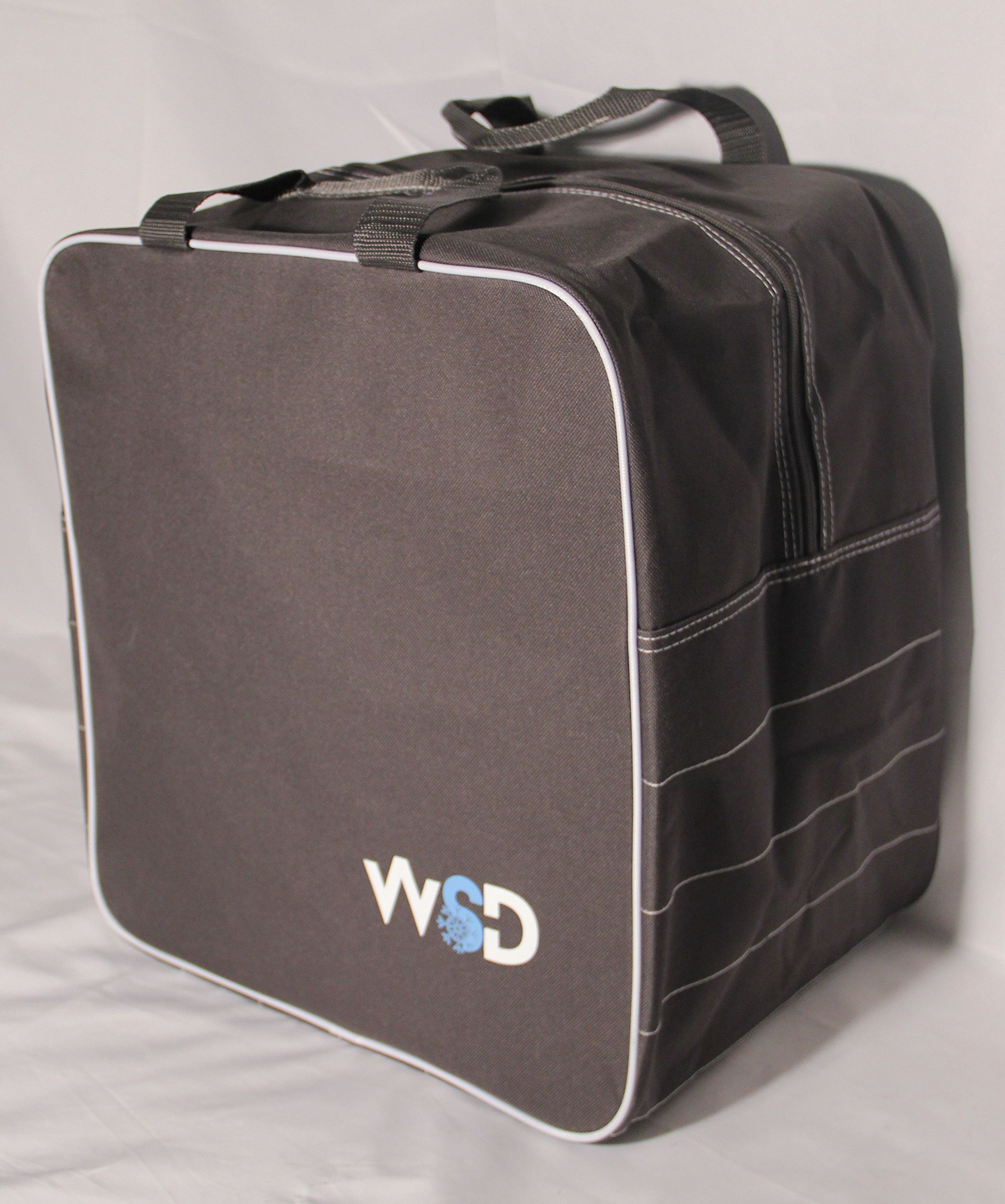 New WSD Logo Single Ski or Snowboard Boot Bag, Boot & Gear Bag WSD square New (Gray)