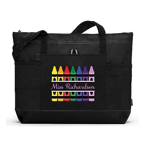 Coloring book bag Personalize crayons book bag. Crayons tote bag