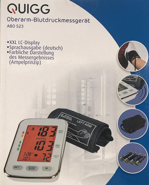 Tensiómetro electrónico de brazo superior - Tensiómetro de brazo: Amazon.es: Hogar