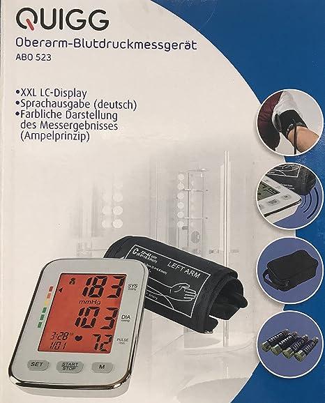 Tensiómetro electrónico de brazo superior – Tensiómetro de brazo