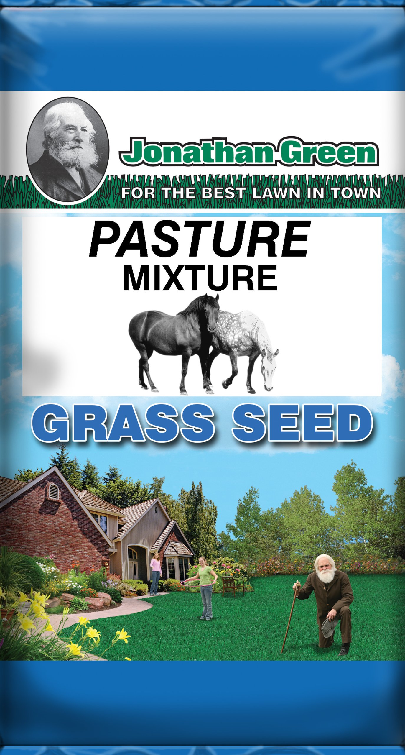 Jonathan Green Pasture Mix Grass Seed, 50-Pound