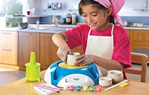 Discovery Kids Motorized Pottery Wheel review