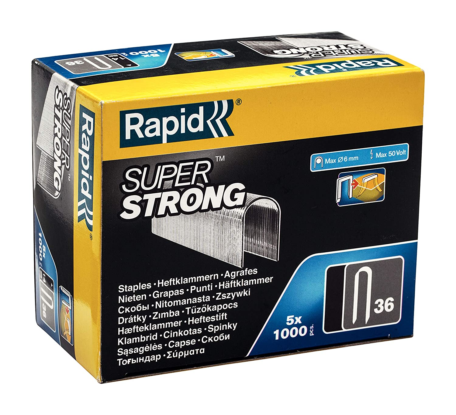 Rapid High Performance No.7 Cable Staples 12 mm Leg Length 40109523-960 Pieces