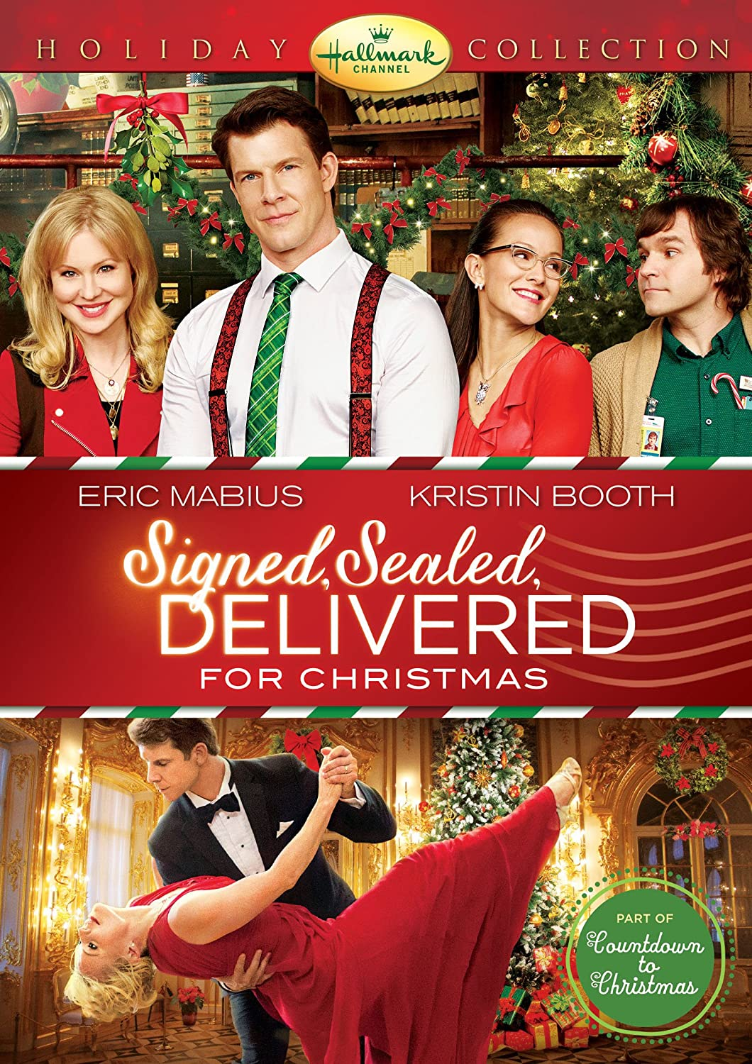 Signed, Sealed, Delivered for Christmas - DVD Image