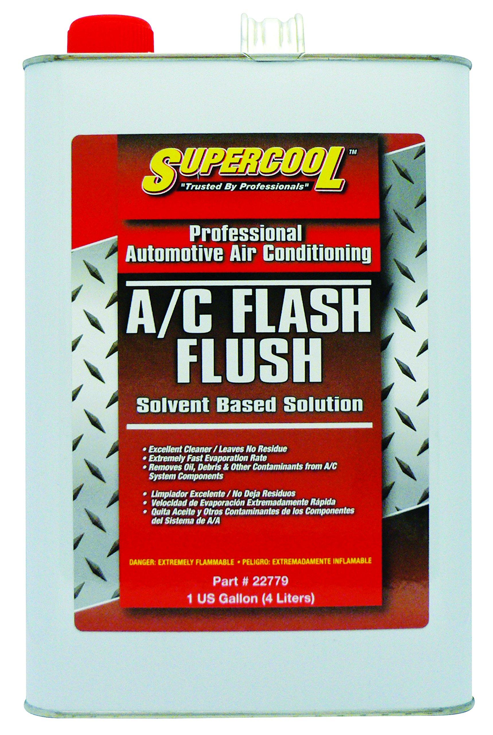 TSI Supercool 22779 Solvent-Based A/C Flush, 1 gallon by TSI Supercool