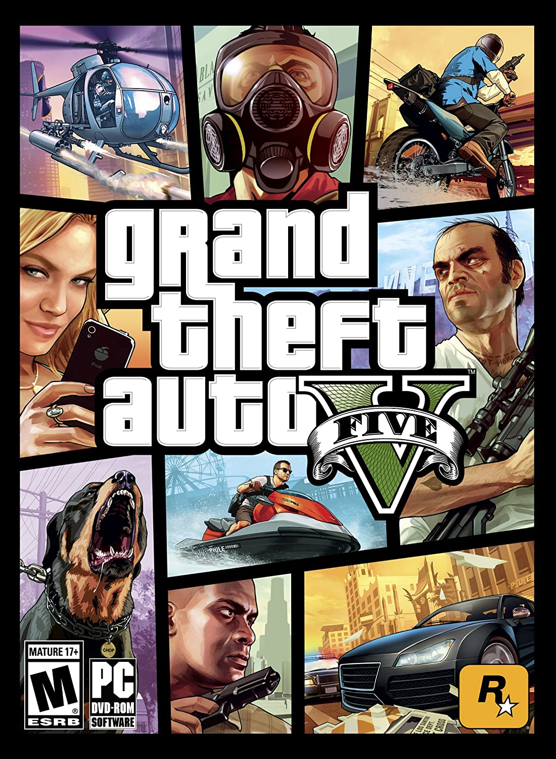 Amazon com: Grand Theft Auto V - PC: Video Games