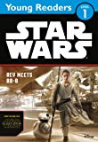 Star Wars The Force Awakens: Rey Meets BB-8: Star Wars Young Readers