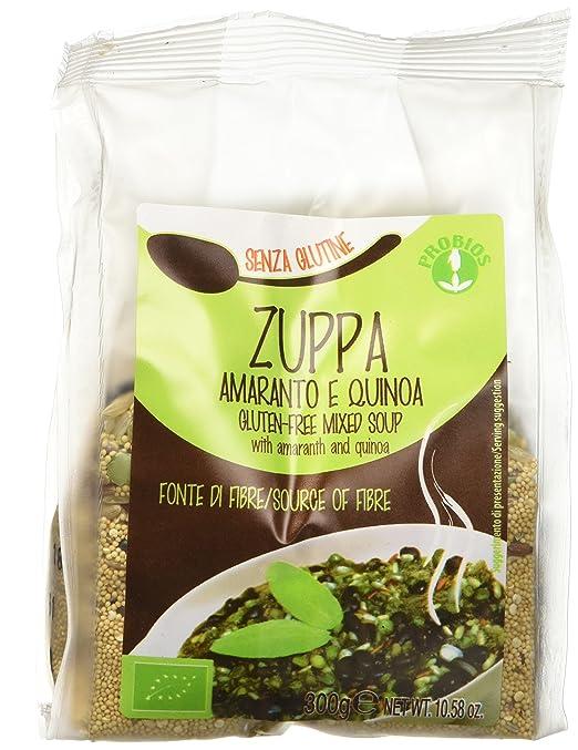 2 opinioni per Probios Zuppa Amaranto e Quinoa- 300 gr