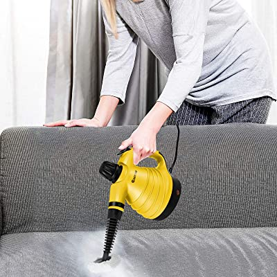 1050W Multi-Purpose Portable Steamer Household Steam Cleaner w// Attachments 9PCS