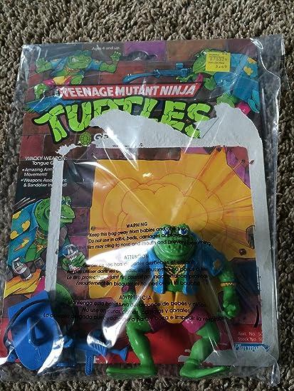 1990 TMNT GENGHIS FROG Figure Teenage Mutant Ninja Turtles