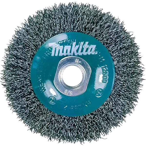 3 Inch Knotted Wire Cup Brush For Grinders On Metal Makita 1 Piece
