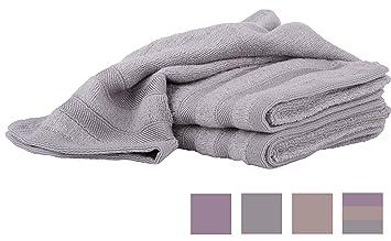Elite hogar Bambú Fibra toallas de mano – Plato de cocina baño bebé o gimnasio toallas