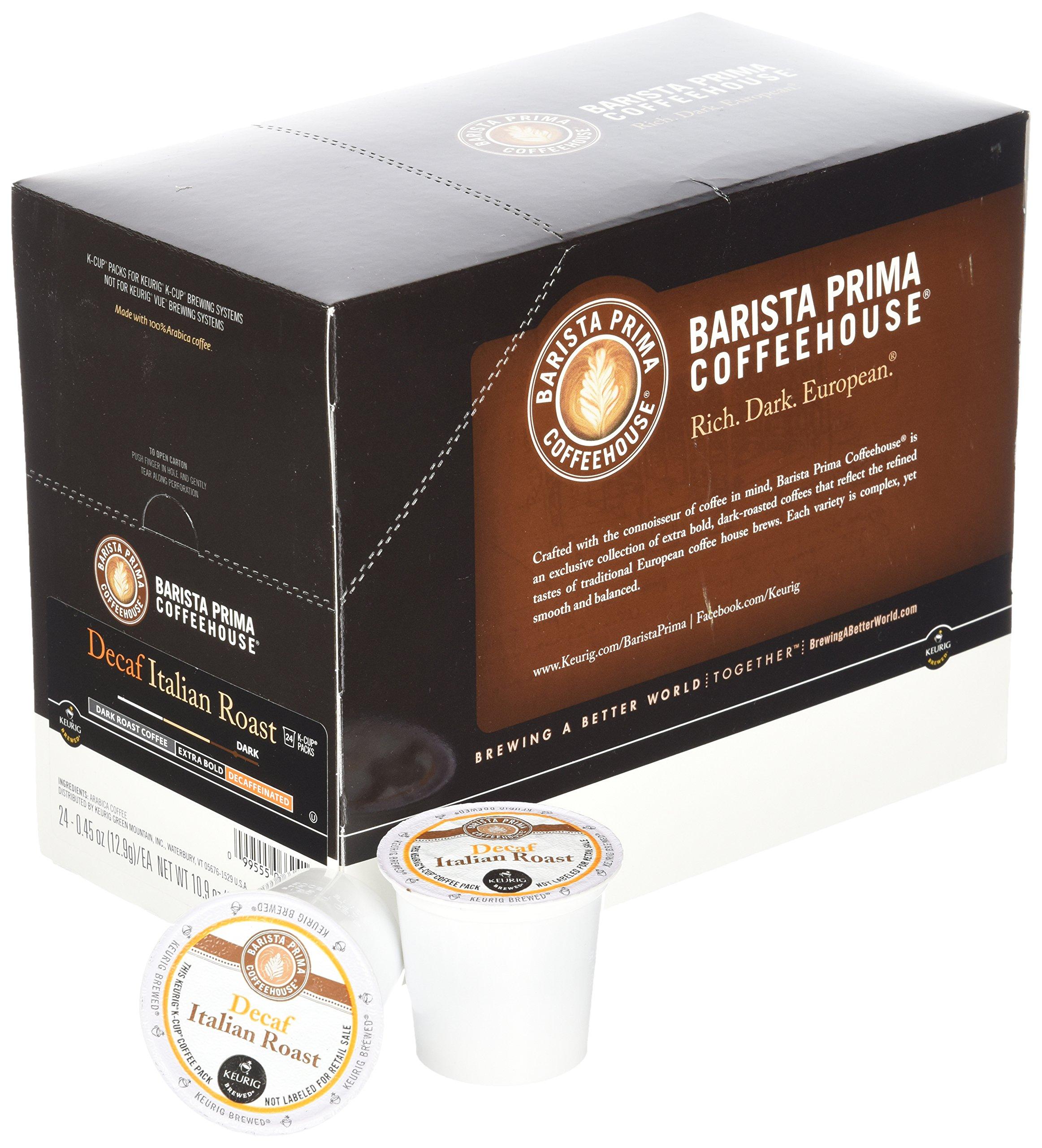 Barista Prima Decaf Coffee, Italian Roast, Rich. Dark. European., 24- Count K-Cup by Barista Prima (Image #3)