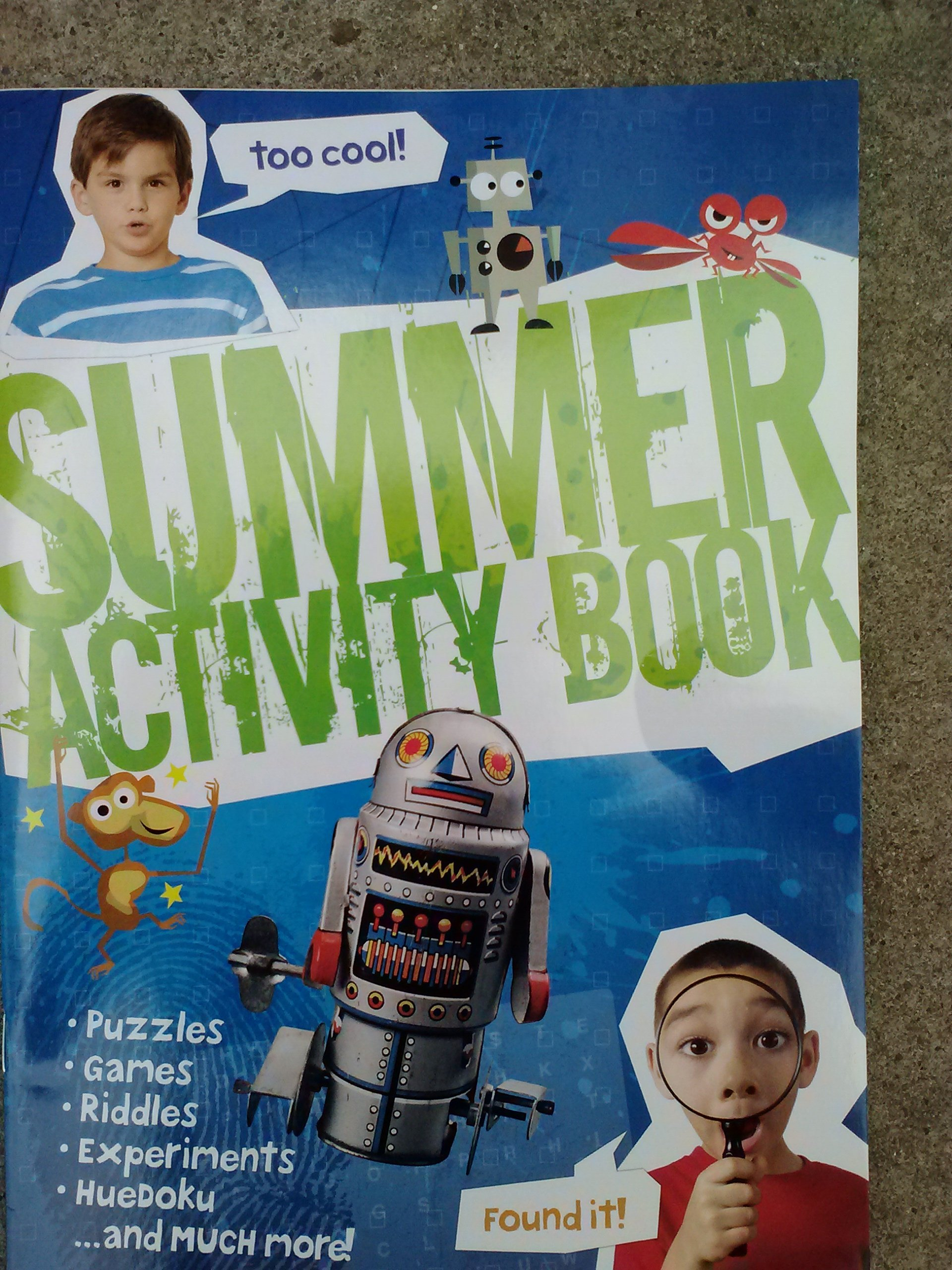 Read Online (Awesome) Summer Activity Workbook (Puzzles, Games, Word Search, Recipes, Sudoku... & Much More!) pdf epub