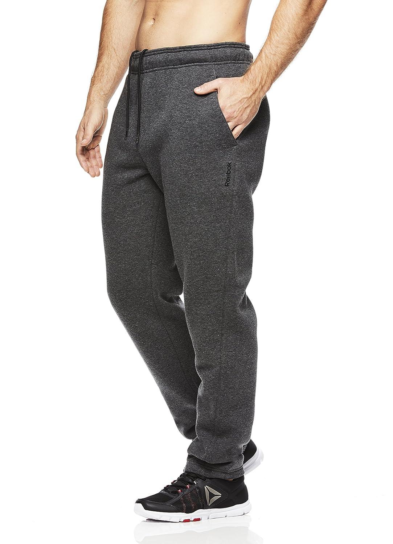 Reebok Mens High Impact Track Pants Performance Activewear