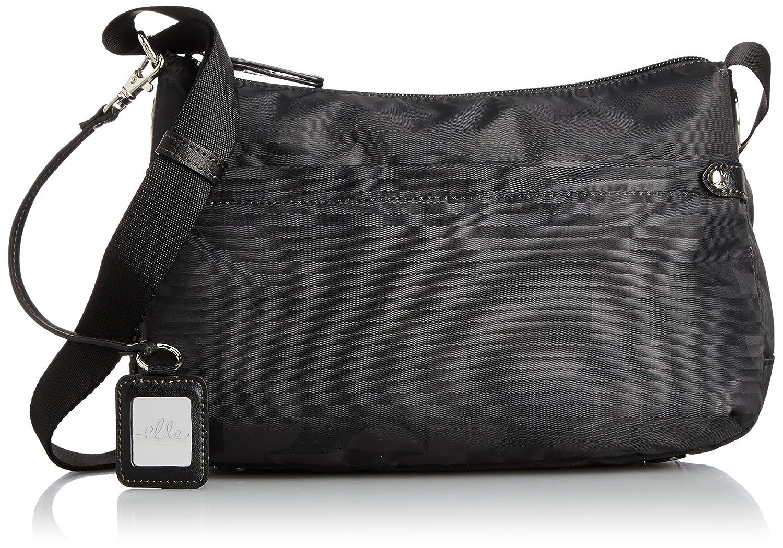 [エル] ELLE 「プリモア」ショルダーバッグ(Sサイズ) B00WS459FC  ブラック