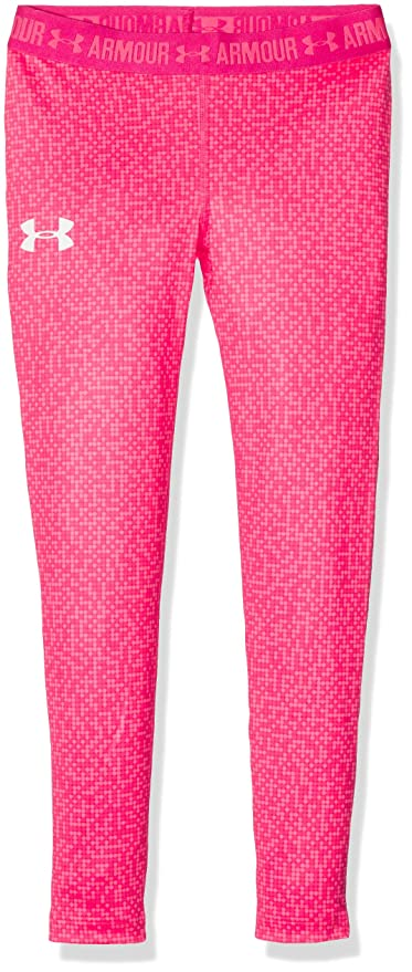 Under Armour HG Armour Printed Legging Leggin, Niñas: Amazon.es: Deportes y aire libre