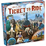 Ticket to Ride France Board Game EXPANSION   Family Board Game   Board Game for Adults and Family   Train Game   Ages 8+   Fo