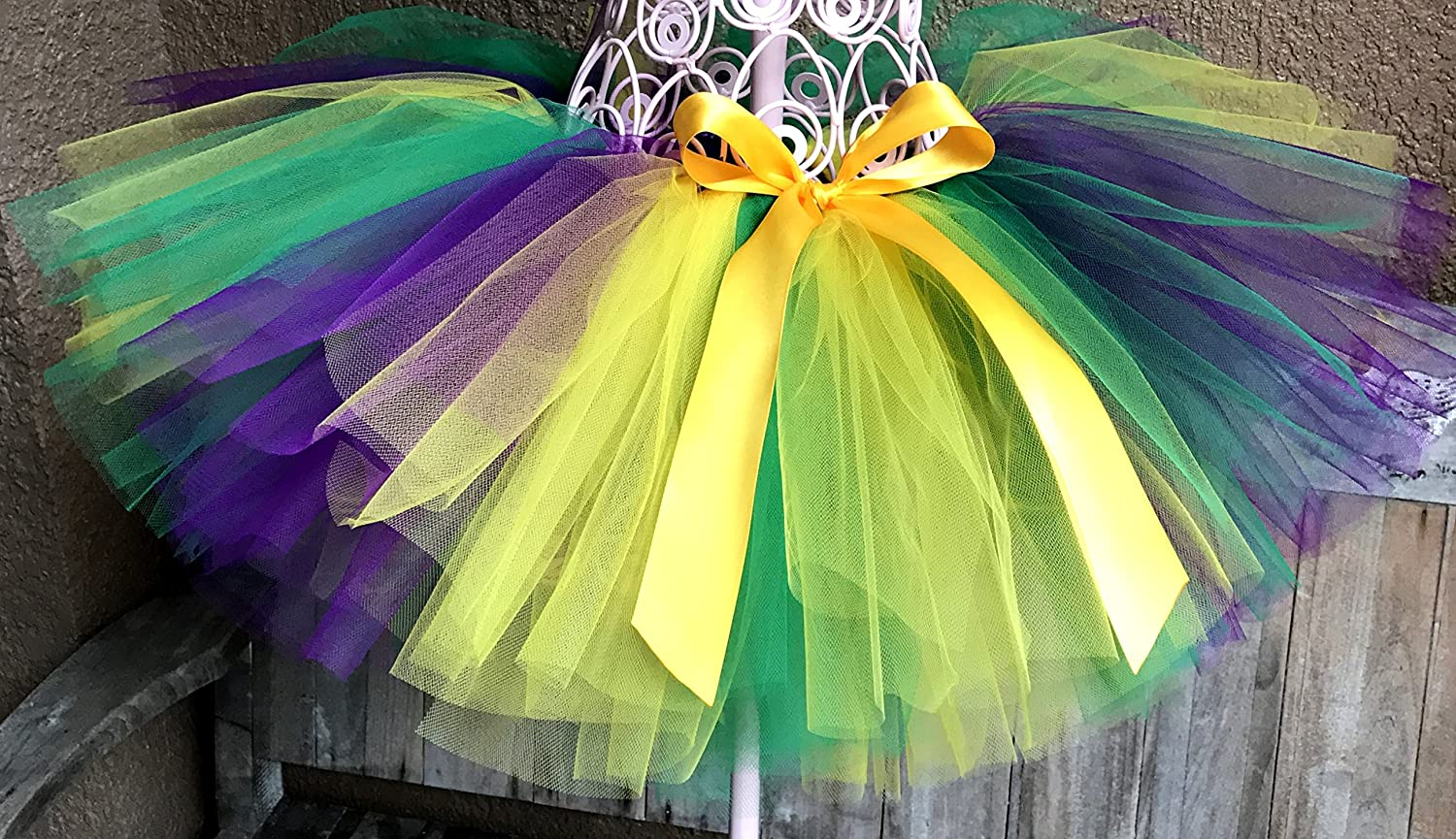 Mardi Gras Tutu, Baby Tutu, Fat Tuesday Tutu, Girls Tutu, Photo Prop Tutu, Infant Tutu, Birthday Tutu, Newborn Tutu, Toddler Tutu