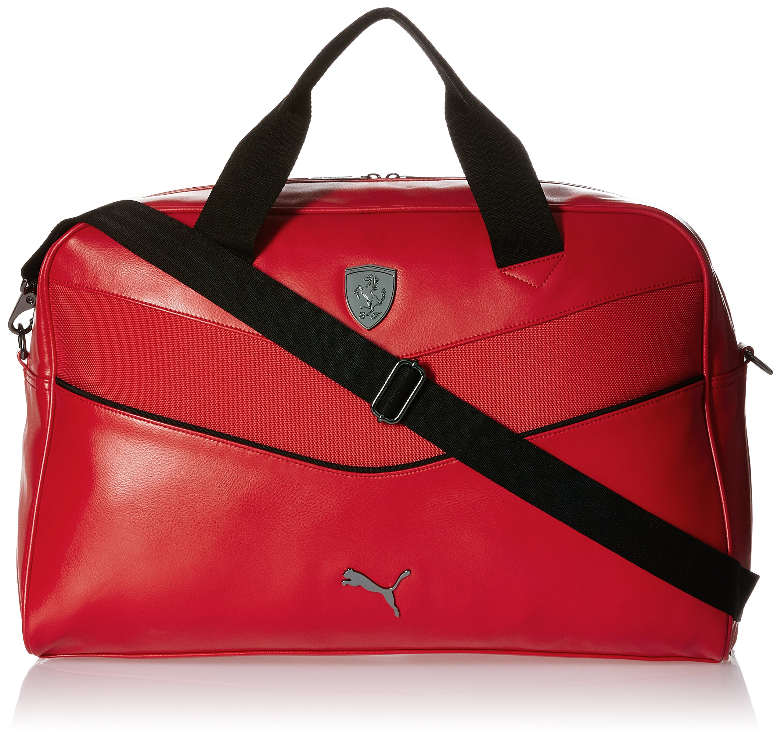 Puma Motor Sports Ferrari Boston Bag 2 Way 073946 Ferrari LS Weekender (Red)