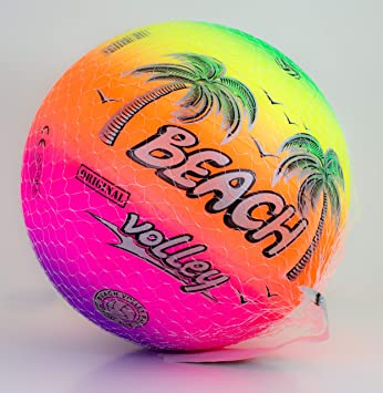 ColorBaby Pelota 21 Cm Beach Volley Fluor: Amazon.es: Juguetes y ...