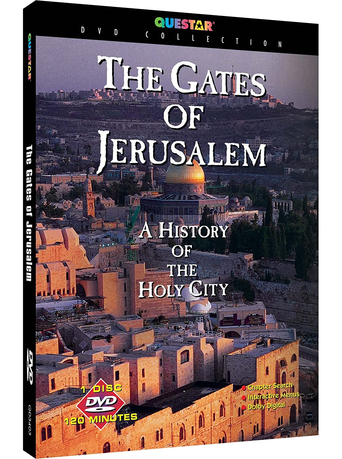 Gates Of Jerusalem Various Phase 4 QD3403 Documentary