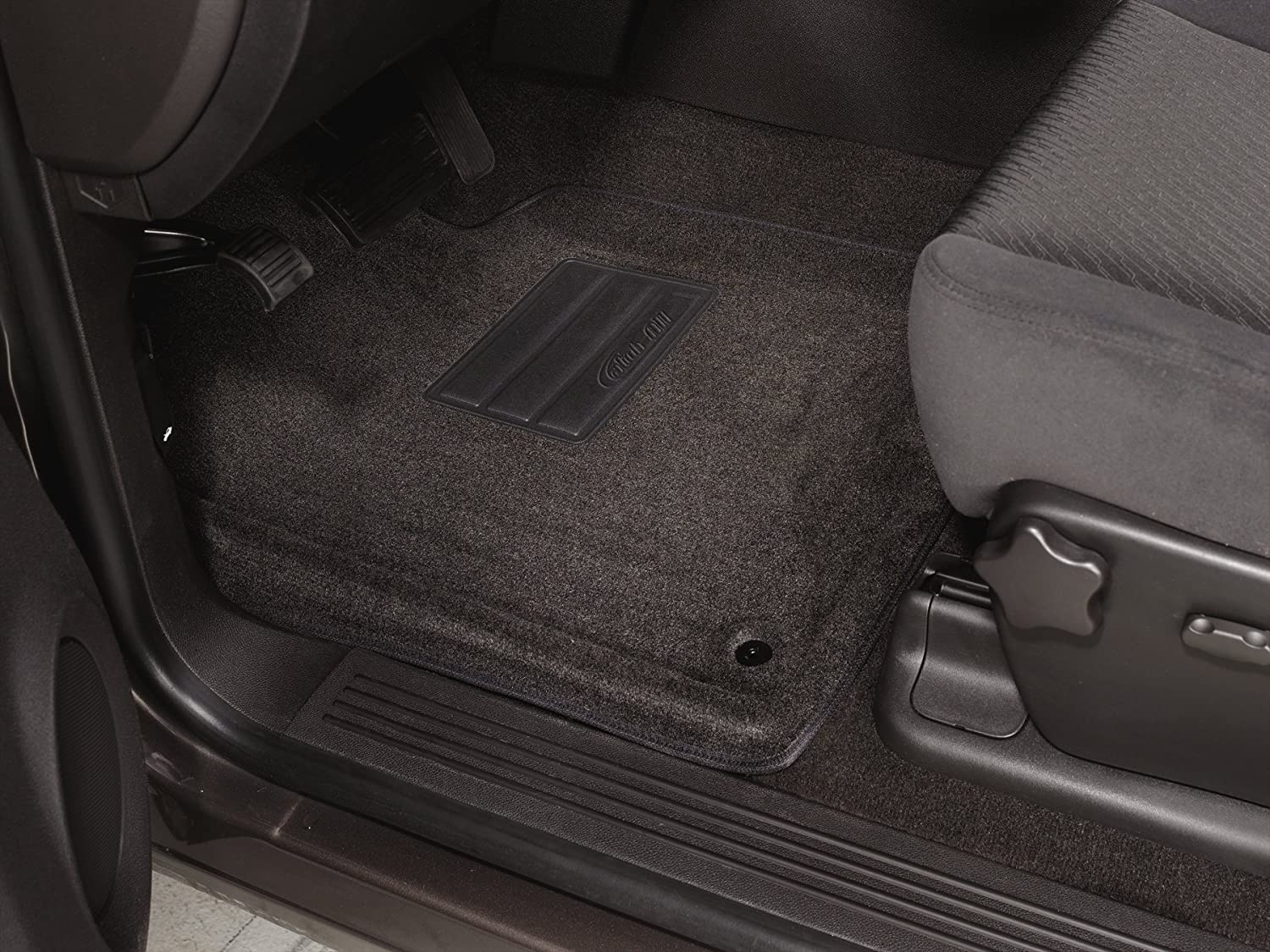 Lund 600331 Catch-All Carpet Charcoal Front Floor Mat Set of 2