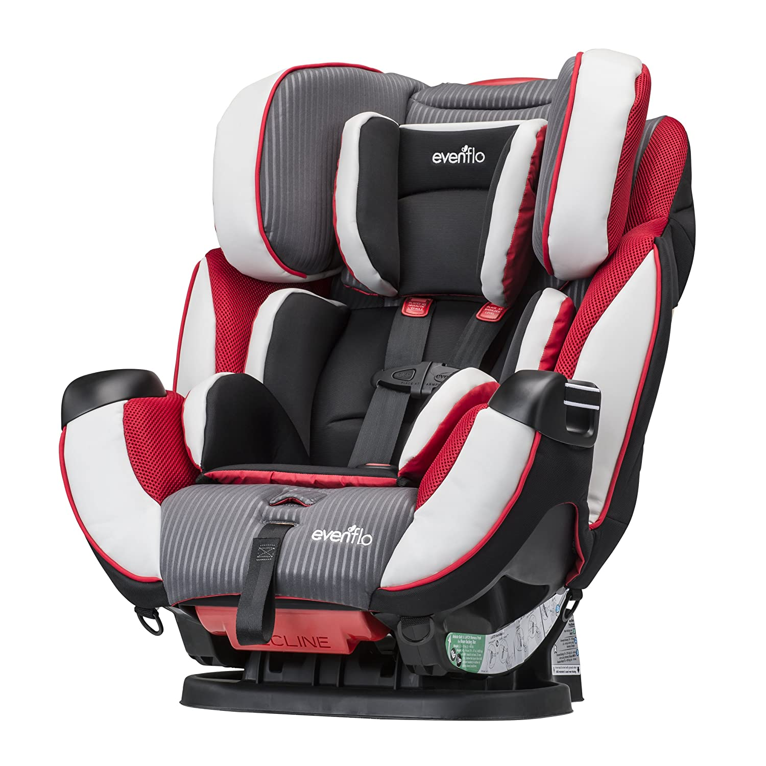 Amazon.com  Evenflo Symphony Elite All-In-One Convertible Car Seat Ocala  Baby  sc 1 st  Amazon.com : evenflo reclining car seat - islam-shia.org
