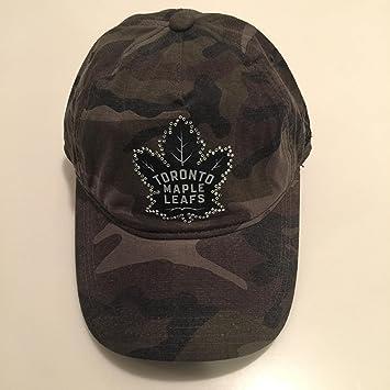 ce45b249b Toronto Maple Leafs 47 Brand Sparkle Camouflage One Size Adjustable ...