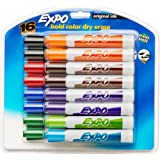 EXPO Original Dry Erase Markers, Chisel Tip, Assorted Colors, 16-Count