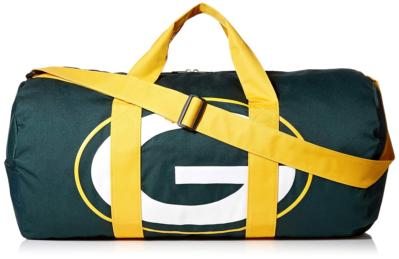 FOCO NFL Unisex Vessel Barrel Duffle Bag
