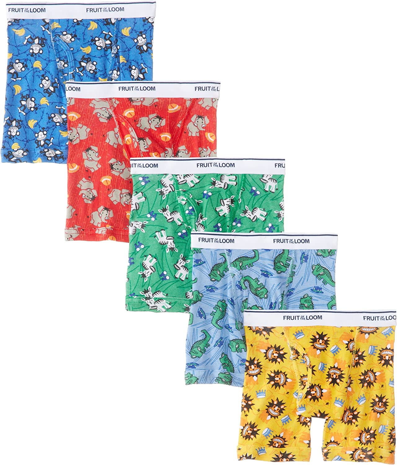 Fruit of the Loom Boys Boxer Briefs