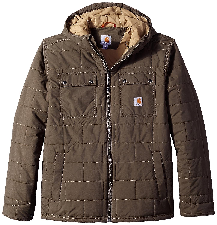 Carhartt Men's Big & Tall Brookville Quilted Nylon Jacket Breen Large Tall Carhartt Sportswear - Mens 100727-308