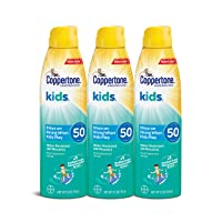 Deals on 3-PK Coppertone KIDS Sunscreen Continuous Spray SPF 50 5.5oz