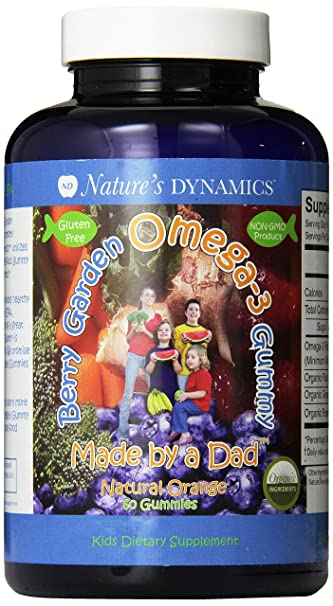 Nature's Dynamics Kids Berry Garden Omega-3 Gummy- 60 Gummies