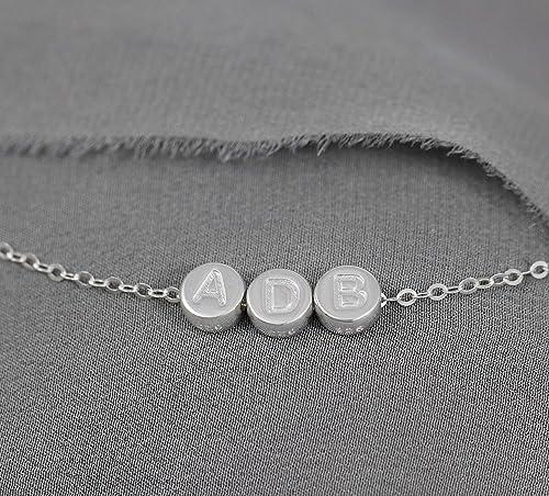 Birthstone Letter Initial Bracelet for Mom Birthstone Cuff Bangle Bracelet Personalized Cuff Bracelet Family Initial Mother Grandma Bracelet