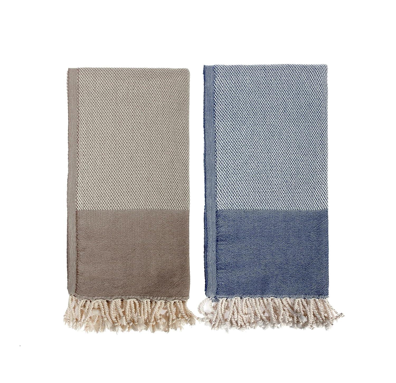 Luna de Miel regalo, Señor y señora toallas de playa, lujo lavado a la piedra toallas de playa: Amazon.es: Hogar