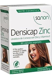 Sanon Levadura de Cerveza con Zinc y Vitamina E - 2 Paquetes de 60 Cápsulas