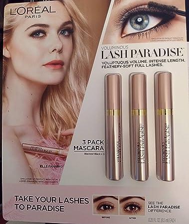 80d44783132 Image Unavailable. Image not available for. Color: L'Oréal Paris Voluminous  Lash Paradise Washable Mascara ...