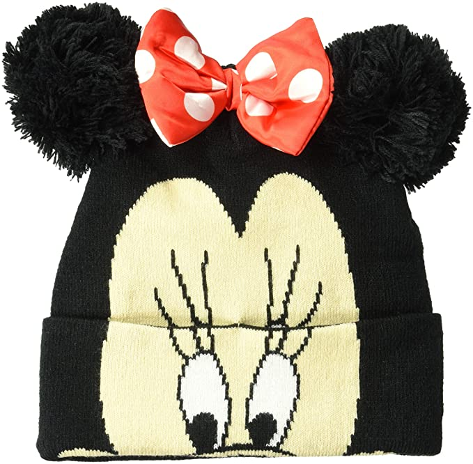 e54d396121d59 Image Unavailable. Image not available for. Color  Disney Minnie Mouse  Winter Beanie