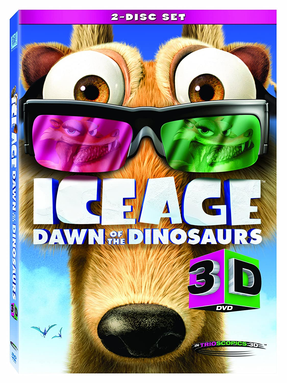 Amazon Com Ice Age 3 3d Ice Age 3d Dawn Of The Dinosaur 3d Movies Tv