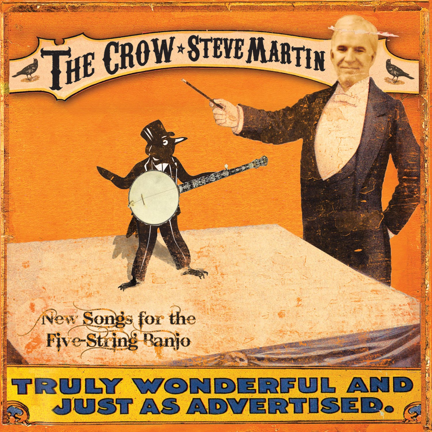 Steve Martin The Crow New Songs For The Five String Banjo Vinyl