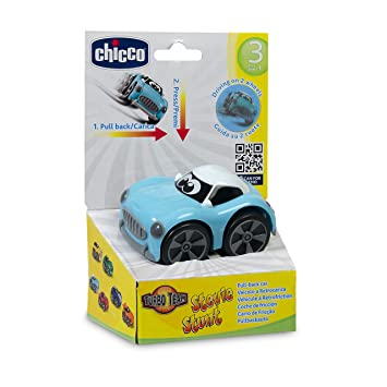 Chicco Turbo Touch Game Stunt Color Blue
